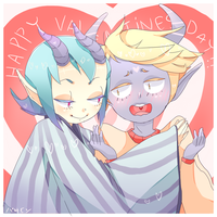 Happy LATE v-day rasu! by milqo