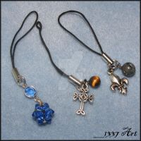 Cell Phone Charms by 1337-Art