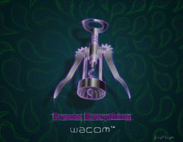 Corkscrew Advertisement Design by TheJayWilliams