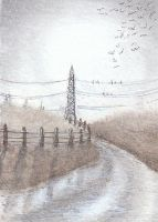 Powerlines by Argendriel