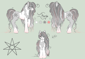 Pony OC Reference: Eerie by EnigmaticalMe