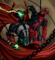 Spawn forever bitch! by Rogerpunk