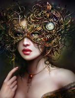 The Girl With Emerald Eyes by BrookeGillette