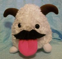 LoL: Medium Mustache Poro by magefeathers