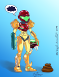 Samus and Friend by MrBIGAL