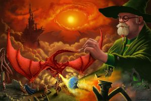 Jeff Easley tribute by MatesLaurentiu