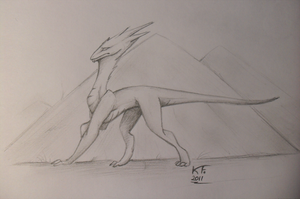 Tr.Art. Dragon's gait by KrimalFancey