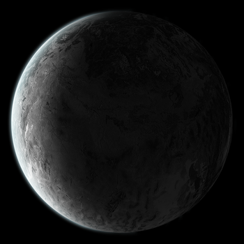Large moon planet stock by arisechicken117