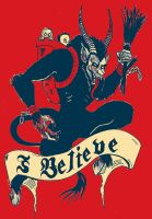 I Believe In Krampus 2 by atomagedevilman