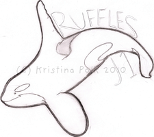 "Ruffles J1 ""Badge' by verybluebird"