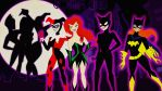 DC AM:Gotham Girls Artwork Collab with qBATGIRLq by bat123spider