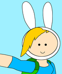 Fionna doing a selfie by SuperMarcosLucky96