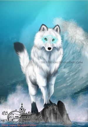 God Aegir Wolf