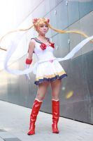 Sailor Moon in the name of LOVE by Firiless