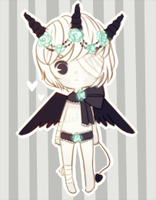 Giveaway demon adopt- CLOSED-counting entries by kioler