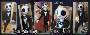 Jack Skellington Plush Doll by tavington
