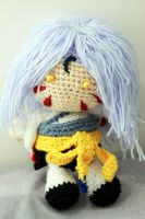 Inu Yasha: Sesshoumaru Doll by Nissie