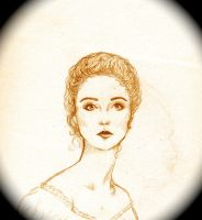 Victorian-esque Etching (sepia version) by Frigate-1812