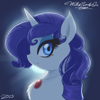 Rarity Portrait Too by WillisNinety-Six