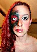 Halloween makeup - 'Infected'. by CVKES