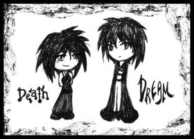 Death and Dream by silverei