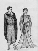 Sylvan Noble - a Lord and Lady by Theophilia