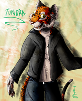 Tundra the tiger by TNT-DOG