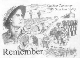 Remembrance Day Poster 2002 by ColonelLiamRoss