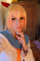 Chitoge preview! .. for now. by Cakez-chan