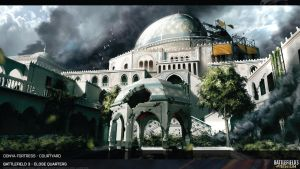 Battlefield 3 Artwork Donya Fortess HD by Pixero111