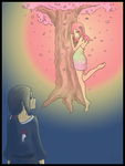 Nymph of the Sakura tree by surrenderdammit