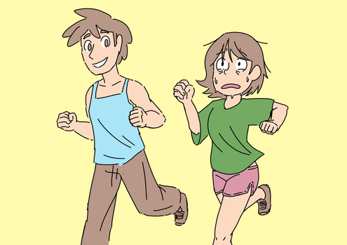 Cardio day by RK-d