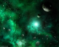 Green Nebula by Lairis77