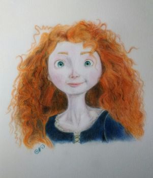 Merida by ni5hitha