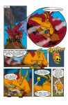 AFL Fight 1 Page 4 by TheMonsterfink