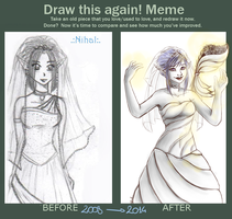 Improvement Meme - Nihal Bride by FairyMela