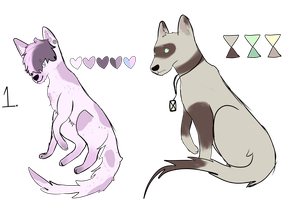Free adopts (0/2) *CLOSED* by Tisefe