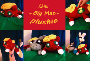 Chibi plush prize for Torucon2013 - Big Mac by mirry92