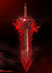 Corrupted Excalibur (the NewMoon) by mixlou