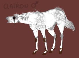 Clairon ref sheet by halloweendonkey