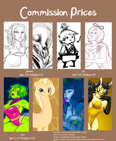 Commissions Are Still Open by HellLemur