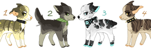 pup adopts - closed by Adoptablue