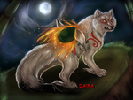 Okami, the goddess of the sun by TigresaDaina