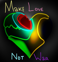 Make Love, Not War by munchii3