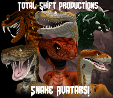 Total Shift Productions :Snake Avatars: by ShadowthShapeShifter