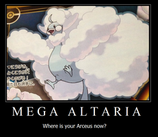 Mega Altaria Motivational by King-Codrian-Drasil