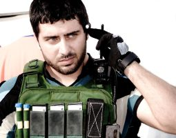 Chris Redfield by MaicouManiezzo