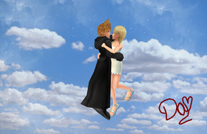Roxas X Namine-MMD by danit09182