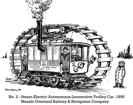 No. 2: Steam-Electric Autonomous-Locomotive by KenFletcher