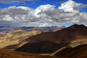 View from Himalayan roads - 2 by Suppi-lu-liuma
